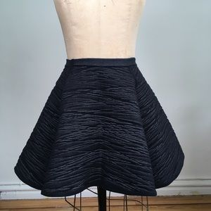 NWT Cotton Stretch Flare Skirt